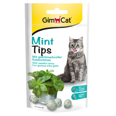 Gimcat Mint Tips Ödül Tableti 40gr